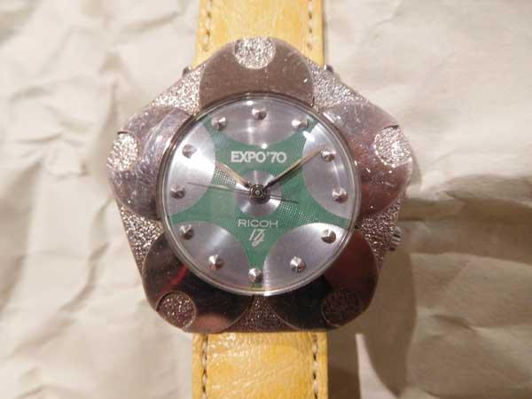 quality design c8d99 7a2b1 リコー エキスポ70 万博記念時計