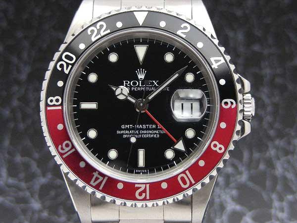 huge discount 05f97 6dbb4 ロレックス GMTマスター2 Ref.16710 U品番 赤黒ベゼル ギャラン ...