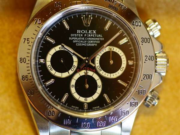 newest 11708 fe285 ロレックス デイトナ Ref.16520 A番 ブラックダイアル ...