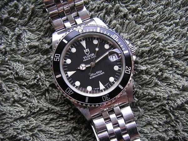 new styles 9999b 7260a チュードル サブマリーナ ブラックダイアル Ref.75190 ボーイズ ...