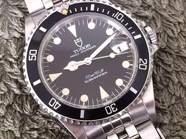 newest ed420 16f78 チュードル サブマリーナ ブラックダイアル Ref.75090 ボーイズ ...