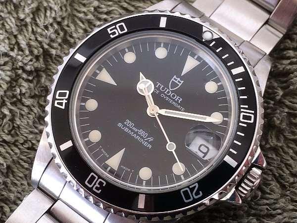 timeless design 30566 68015 チュードル サブマリーナ ブラックダイアル Ref.75090 ギャラン ...
